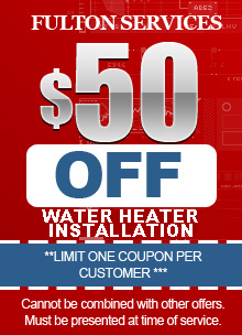 Atlanta plumber install coupon